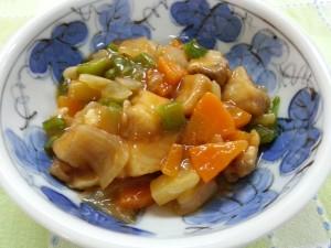 白身魚の甘酢煮