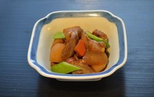 春野菜と鶏肉の煮物